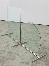 Tondo e rettangolo (Circle and Rectangle) by Luciano Fabro contemporary artwork sculpture
