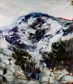 From where i stand - I don't own you oh mountain of mine by Aaron Kinnane contemporary artwork