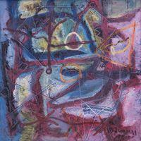 Alluvial (SLTD065) by Le Trieu Dien contemporary artwork painting