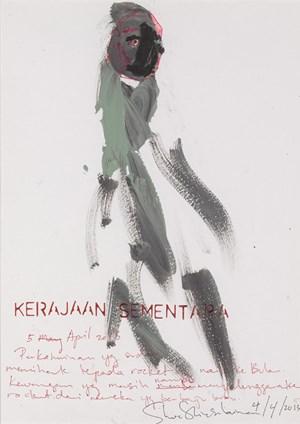 Karajaan Sementara (5 April2013)/ Intermediary by Shooshie Sulaiman contemporary artwork
