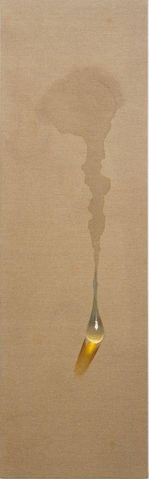 Waterdrop by Kim Tschang-Yeul contemporary artwork painting, works on paper