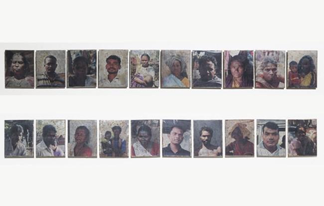 Industrial Portraits by Sangita Maity contemporary artwork