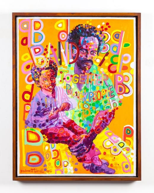 Boss Couple by Wadsworth Jarrell contemporary artwork