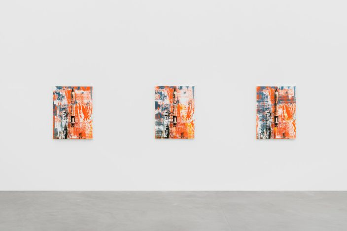 Exhibition view: Michael Kagan, How We Remember, Almine Rech, Brussels (21 April–28 May 2021). Courtesy the Artist and Almine Rech.