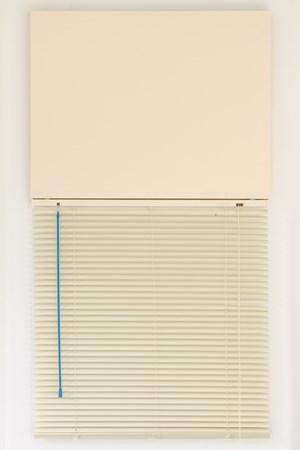 Blind mono (Cream) by Ed Bats contemporary artwork