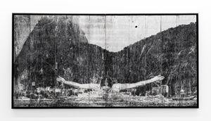 GIANTS, Léonie PERIAULT from France, Botafogo, © Comité international Olympique, Rio de Janeiro, Brazil by JR contemporary artwork