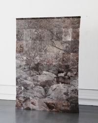 Kloof by Strauss Louw contemporary artwork print, textile