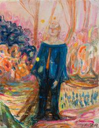 New Behaviour IV by Séraphine Pick contemporary artwork painting