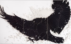 Another Freedom_BWB by Ran Hwang contemporary artwork
