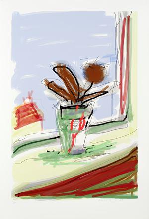 My Bedroom Window by David Hockney contemporary artwork