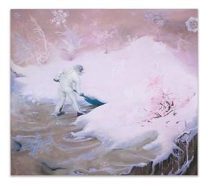 Snowflake (Pink) by Inka Essenhigh contemporary artwork