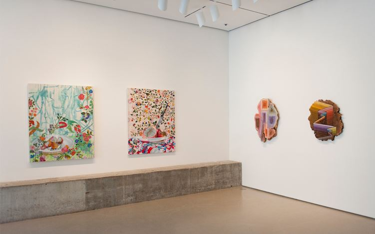 Contexture, Curated byCey Adams, Exhibition view. Courtesy of Jane Lombard Gallery, New York.
