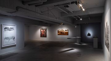 Contemporary art exhibition, Shi Jin-Hua, Homage to the Masters at Mind Set Art Center, Taipei, Taiwan