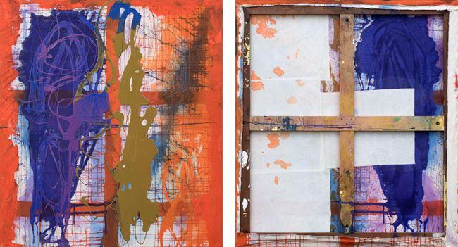 Dutch Door by Dona Nelson contemporary artwork