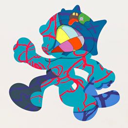 KAWS contemporary artist