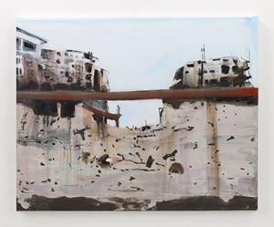 Syria 2 by Brian Maguire contemporary artwork