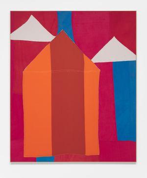 Gala by Lawrence Calver contemporary artwork textile