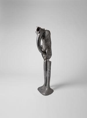 Człowiek z instrumentem (Man with Instrument) by Alina Szapocznikow contemporary artwork