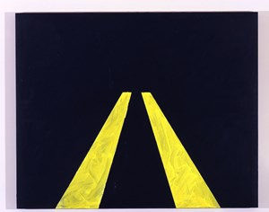No Passing by Mary Heilmann contemporary artwork
