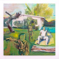 Vulturous Boredom by Kate Gottgens contemporary artwork painting