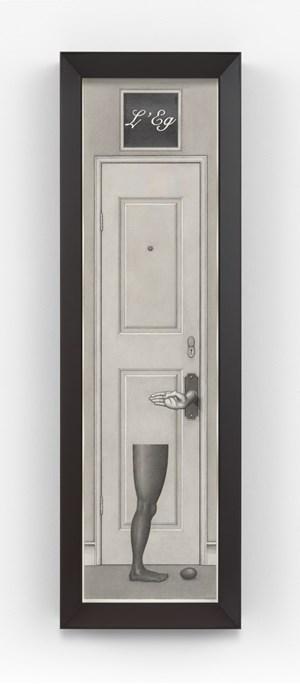 L'Eg Noir by Paul Noble contemporary artwork