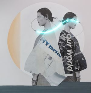 Blindness Infinite Light by Javier Martin contemporary artwork
