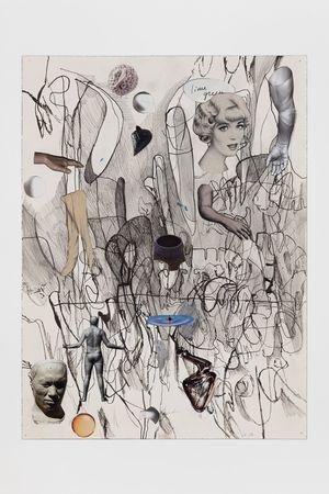 6.12.18.1 by Elliott Hundley contemporary artwork
