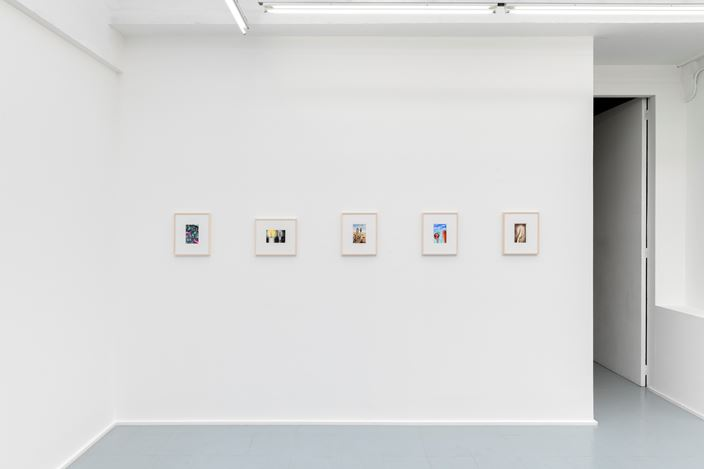 Exhibition view:Emily Mae Smith, Speculative Objects, rodolphe janssen, Brussels (27 February–30 March 2020). Courtesy of the artist and rodolphe janssen, Brussels. Photo: HV photography.