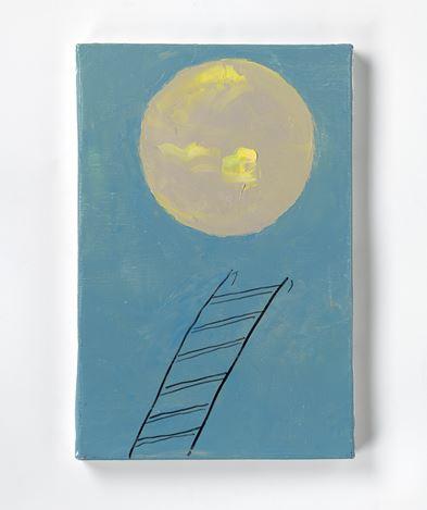 Etel Adnan, Planète 10 (2020). Oil on canvas. 33 x 22 cm. © Etel Adnan. Courtesy Galerie Lelong & Co.