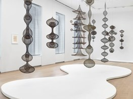 Sculpting Space: Ruth Asawa at David Zwirner
