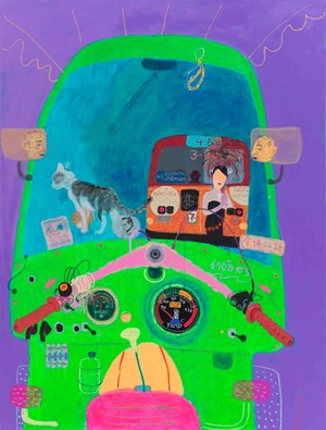 Tuk Tuk 4 by Wang Yuping contemporary artwork