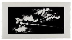 Etude du ciel de nuages by Fabienne Verdier contemporary artwork
