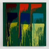 Considering Rothko #13 by Pat Steir contemporary artwork painting