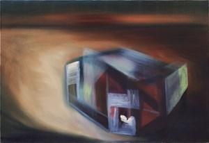 herumstehen  (standing around) by Miriam Cahn contemporary artwork