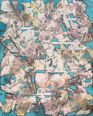 Cumulus by Sojung Lee contemporary artwork painting, works on paper