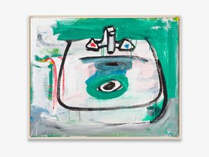 o.T. (Waschbecken) by Karl Horst Hödicke contemporary artwork