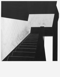 untitled (Stairs) by Apostolos Palavrakis contemporary artwork works on paper