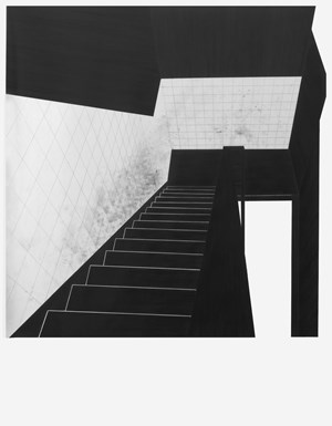 untitled (Stairs) by Apostolos Palavrakis contemporary artwork
