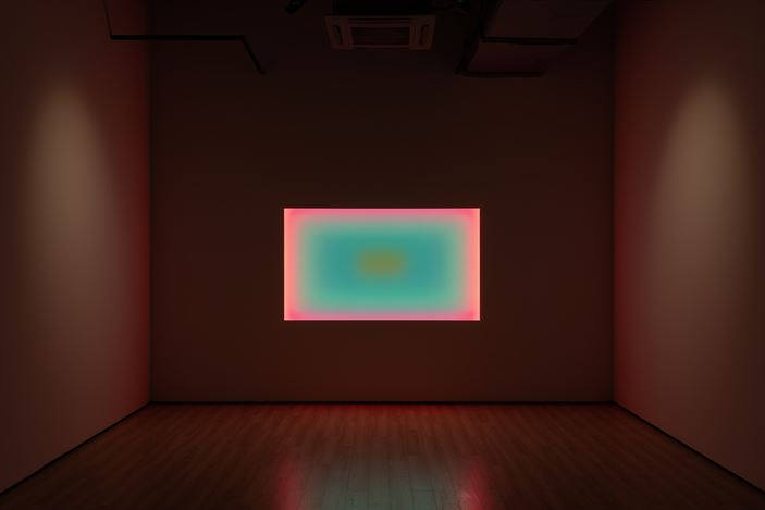Exhibition view: James Turrell, Almine Rech, Shanghai (5 November–21 December 2019).© James Turrell. Courtesy the Artist and Almine Rech.Photo: Alessandro Wang.