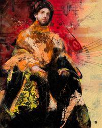 Sebastian by Lita Cabellut contemporary artwork painting