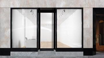 Gagosian contemporary art gallery in Geneva, Switzerland
