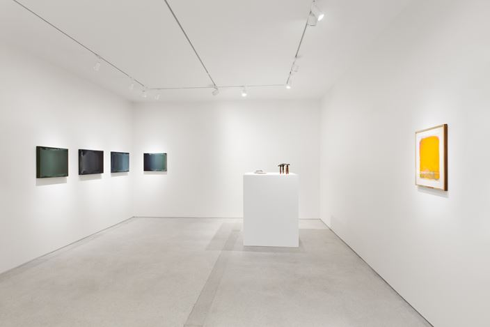 Exhibition view: Group Exhibition,Horizons, curated by Etel Adnan, Lévy Gorvy, Paris (30 January–20 March 2021). Courtesy Lévy Gorvy. Photo: Arthus Boutin.