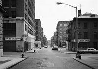 Prince Street at Crosby Street, New York 1978 by Thomas Struth contemporary artwork photography, print