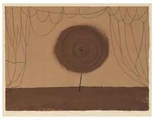 Eine Blume tritt auf (A Flower Performs) by Paul Klee contemporary artwork