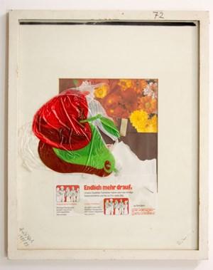 Stilleben mit Apfel (Still life with Apple) by Dieter Roth / Björn Roth contemporary artwork