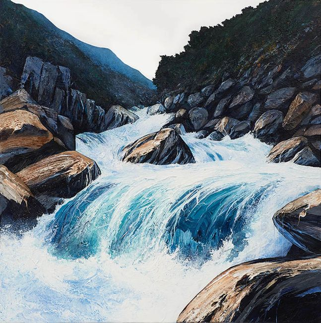 Head Water by Neil Frazer contemporary artwork