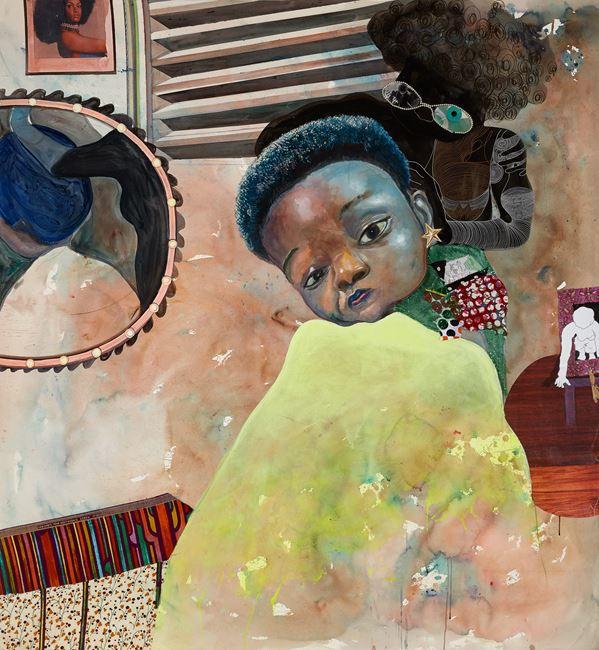 Ghost plaiters by Ndidi Emefiele contemporary artwork