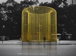 Ai Weiwei's Lastest Artwork: Building Fences Throughout New York City