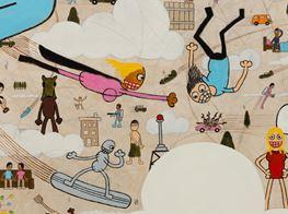 """Jay Stuckey<br><em>Suddenly!</em><br><span class=""""oc-gallery"""">Anat Ebgi</span>"""