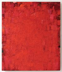 Vermillion !FMT! by Peter Tollens contemporary artwork works on paper